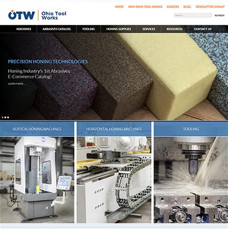 New Ohio Tool Works Website Highlights Re-Engineered Honing Machines
